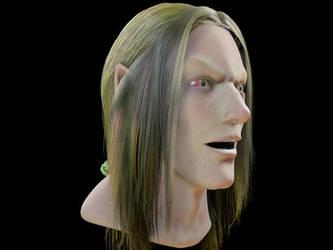 Elf head by jinutan