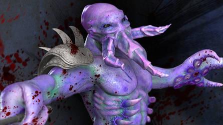 Darkterror the Faceless Void by jinutan