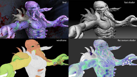 Darkterror - render sheet by jinutan