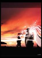 Sunset dream by gavinwm