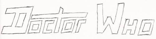 Doctor Who Fan Logo V2 -- Rough Draft by EkardShadowreaver