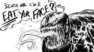 C'n I Eat You Face? by ARTofANT