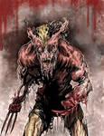 Zombie Wolverine 2010 by ARTofANT