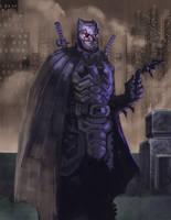 DOD-05: Batman Samurai Armor by ARTofANT