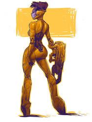 Ballad of the Space Suit Ballerina by ARTofANT