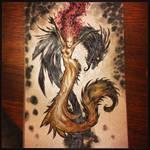 Mermaid and the Dragon Eal by ARTofANT