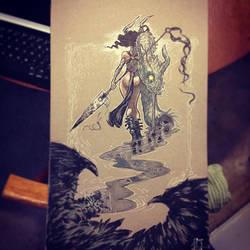 Dragon Killer by ARTofANT