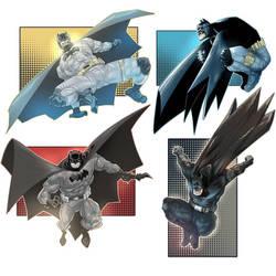 Batmen  by ARTofANT