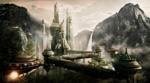 Alien Lab by ongchewpeng