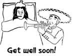 Get well soon by BLANDCorporatio