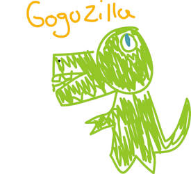 GoGoZilla by Noble-Tempest