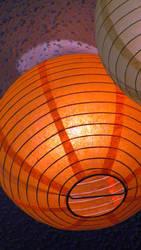 Orange lantern by Noble-Tempest