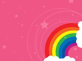 rainbow wallpaper by drunken-puddle