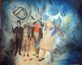Alice on Acid by sneedd