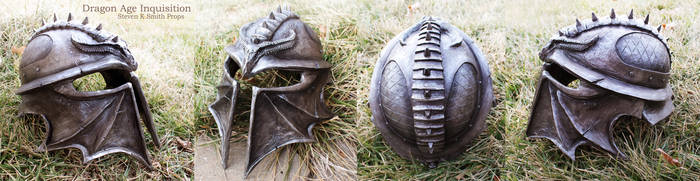 Dragon Age Inquisition Helmet - Full View by SKSProps