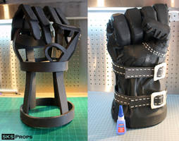 World of Warcraft Orc Cosplay WIP 5 SKS Props by SKSProps