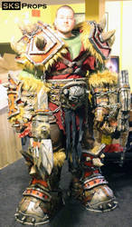 World of Warcraft Orc Cosplay WIP 21 SKS Props by SKSProps