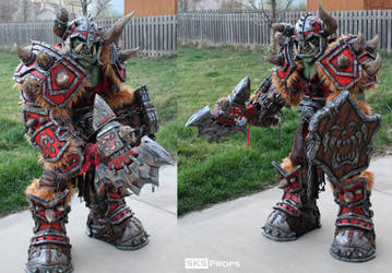 World of Warcraft Orc Cosplay WIP 22 SKS Props by SKSProps