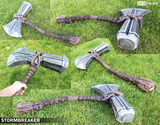 Thor's Stormbreaker Cosplay Weapon - SKS Props by SKSProps
