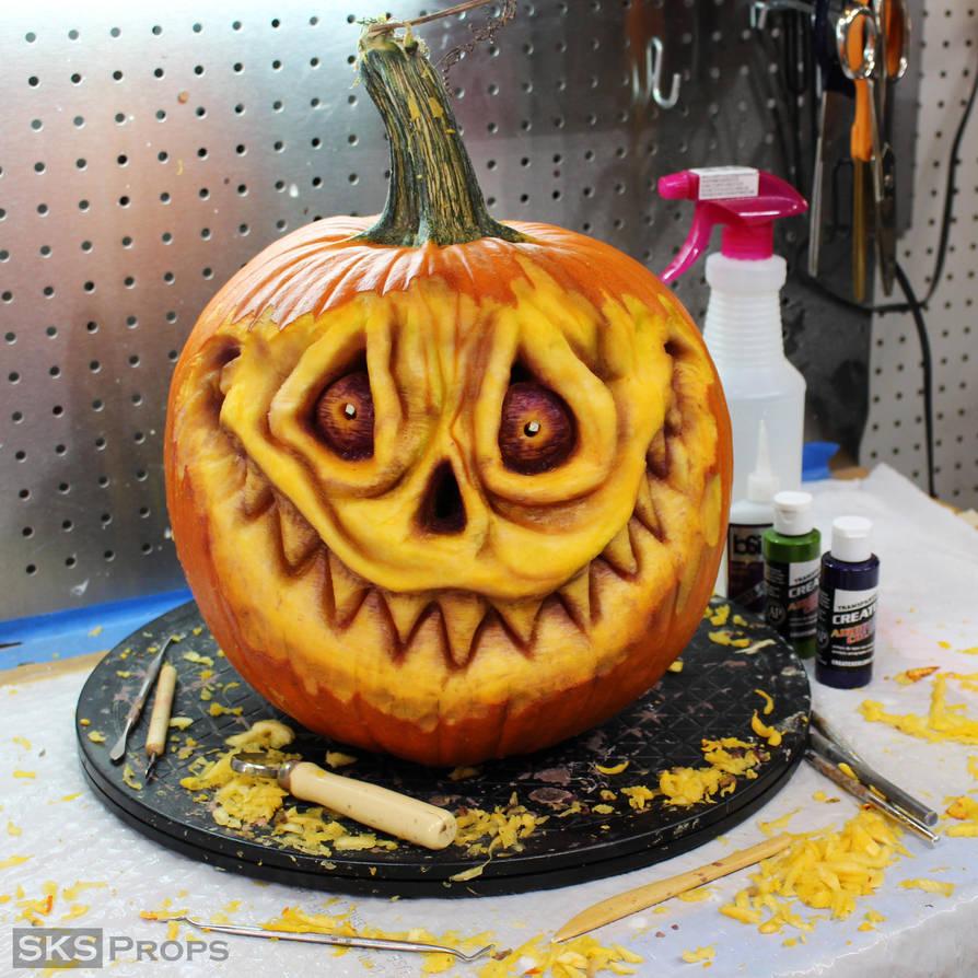 Halloween Pumpkin Sculpt SKS Props by SKSProps