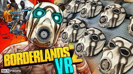 Psycho Masks for Playstation's Borderlands 2 VR by SKSProps