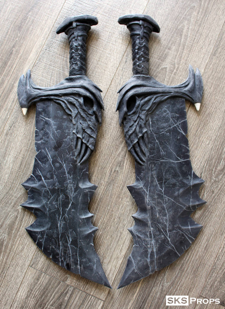 God of War Blades of Chaos WIP SKS Props by SKSProps