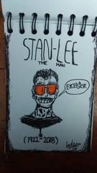 Stan Lee Tribute by D3NR0D by D3NR0D
