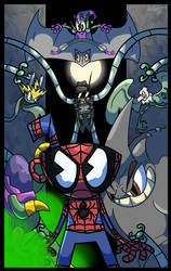 SpiderCup (Spiderman and Cuphead) by D3NR0D