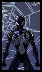 Spiderman: Back in black Fanart by D3NR0D by D3NR0D