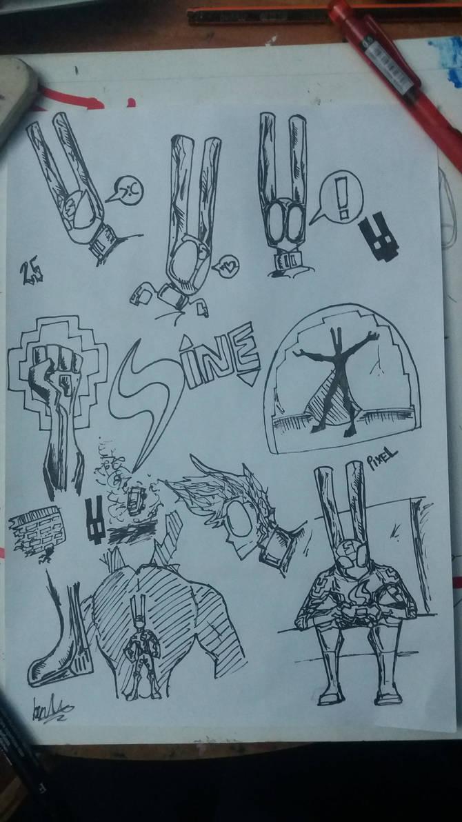 Sine/Clane (Character description) by D3NR0D