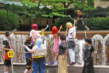 Matsuri KH: I'll Take You All On! by VeneficusMagister