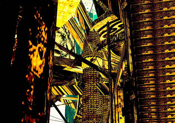 The familiar elevator by AngelAlphaville