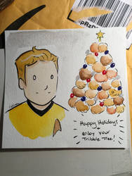TRIBBLE TREE by ChibiCelina