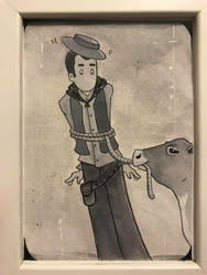 BUSTER KEATON in GO WEST by ChibiCelina