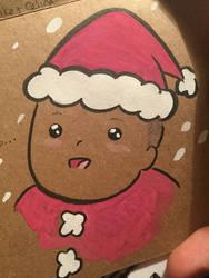 Clark as Santa by ChibiCelina