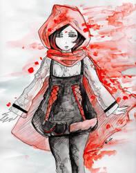 Team RWBY - Ruby Rose (3/4) by eollynart