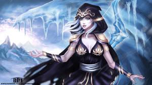 League of Legends - Ashe (NSFW optional) by eollynart
