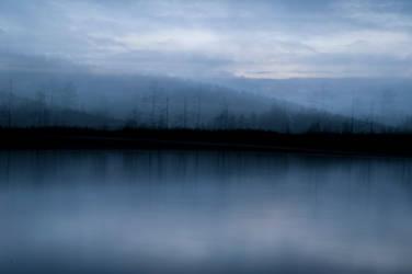 Ghost lake by KaniJonas