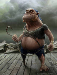 Konk - Pirates of Dark Water by NateHallinanArt