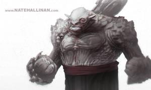 Surly McGrumperson by NateHallinanArt