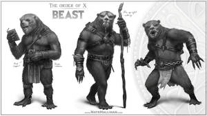The Order of X - Beast by NateHallinanArt