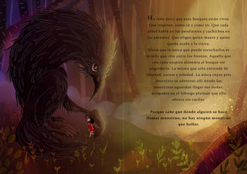 Monster tale illustration by Irina-Hirondelle