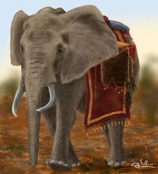 Elephant by SebastianBockisch