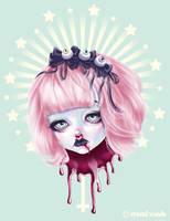 Pastel Bleeding 2 by Mai-Ja