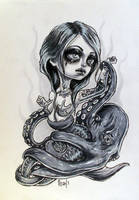 Mermaid and the Octopus by Mai-Ja