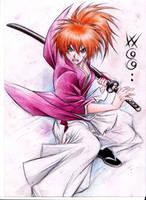 Kenshin Himura by WGGcomic