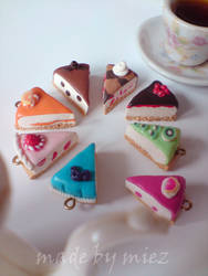 cakepieces pendants ~first try~ by miez by words-with-4-letters