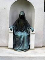 Hooded Figure by hyenacub-stock