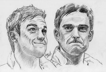 Robbie Williams collage by LenaStinke