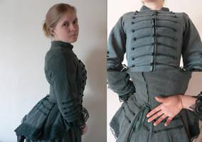 late 19th century dress by saderakki
